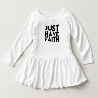 Just Have Faith Dress
