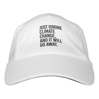 Just ignore Climate Change and it will go away - - Hat