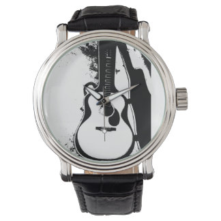 Just in Case Acoustic Guitar Watch