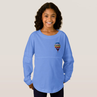 Just in Time for School Hot Air Baloon Jersey Shirt