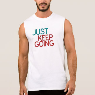 Just Keep Going Fitness Top