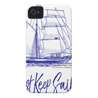 Just Keep Sailing iPhone 4 Case
