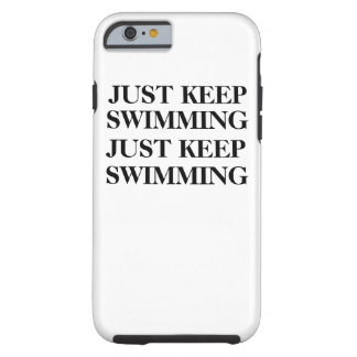 Just keep swimming case