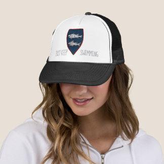 Just Keep Swimming Trucker Hat