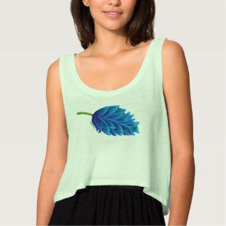 Just Live Blue Flower Shirt