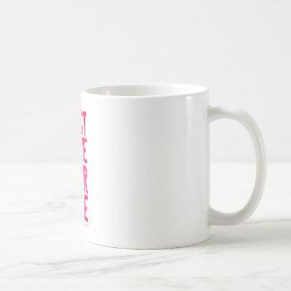 Just live your life coffee mug