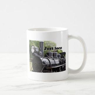 Just loco: steam train Wales, Britain 2 Coffee Mug