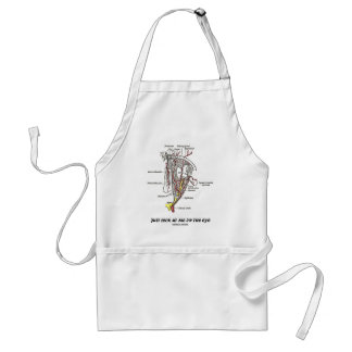 Just Look At Me In The Eye (Anatomical Humor) Standard Apron