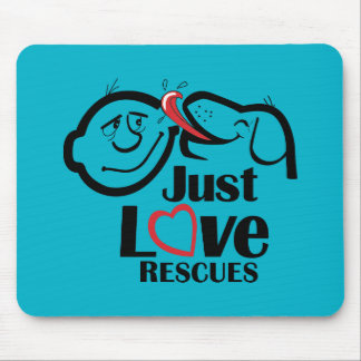 Just Love Rescues Dog Mouse Pad