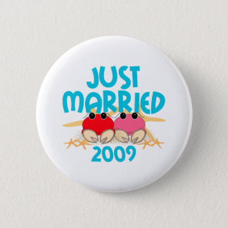 Just Married 2009 2 Inch Round Button