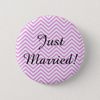 Just Married! 2 Inch Round Button