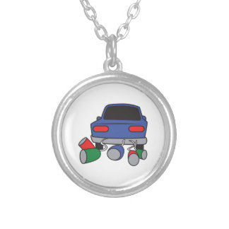 JUST MARRIED AUTOMOBILE NECKLACE
