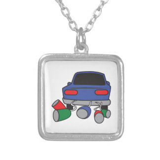 JUST MARRIED AUTOMOBILE NECKLACES