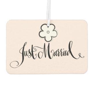 Just Married Car Air Freshener