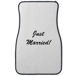 """""""Just Married"""" Car Mats Floor Mat"""