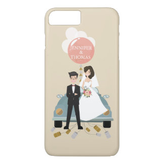 Just married car wedding Cases .