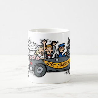 """Just Married!"" Coffee Mug"