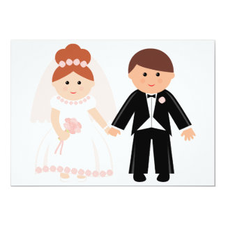 Just Married Couple Invitations