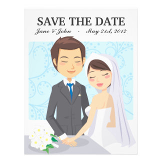 Just Married Full Color Flyer