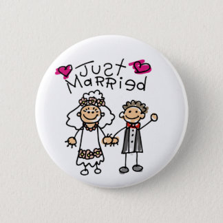 Just Married Gifts Newlywed Gifts Honeymoon Gifts 2 Inch Round Button