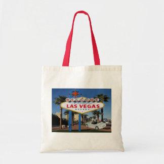 JUST MARRIED Keepsake Las Vegas Tote Bag