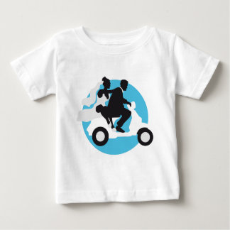 just married more scooter baby T-Shirt