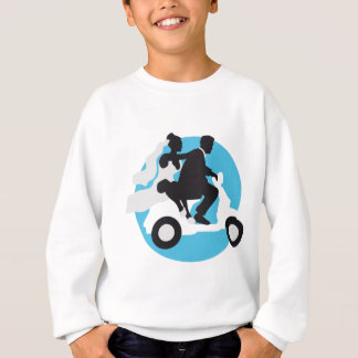 just married more scooter sweatshirt