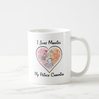 Just Married My Prince Coffee Mug