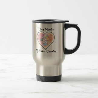 Just Married My Prince Travel Mug