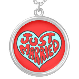 JUST MARRIED  NECKLACE