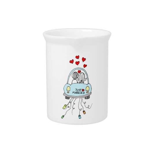 Just Married Pitcher
