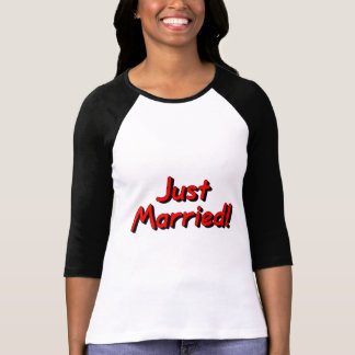 Just Married (Red) T-Shirt