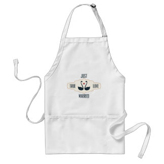 Just Married Standard Apron