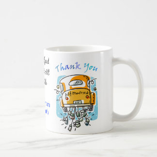 Just Married Thank You Mug (2C)