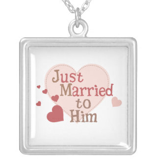 Just Married to Him Pendants