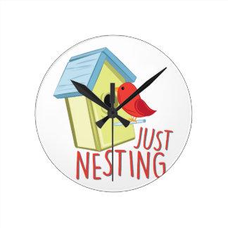 Just Nesting Wall Clock