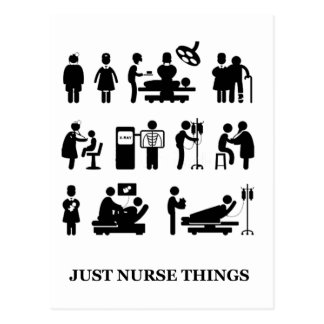 Just Nurse Things Postcard