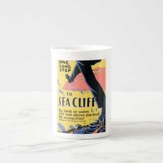Just one long step to Sea Cliff Tea Cup