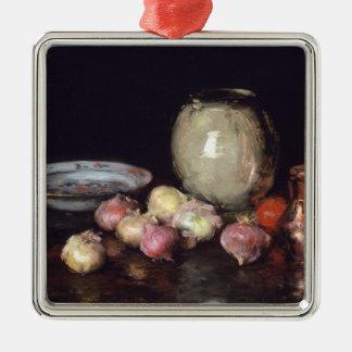 Just Onions Metal Ornament