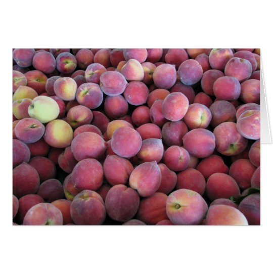 Just Peachy Card