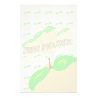 Just Peachy Fade Stationery
