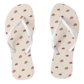 Just Peachy Flip Flops