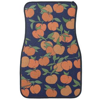 Just Peachy Peaches Floor Mat