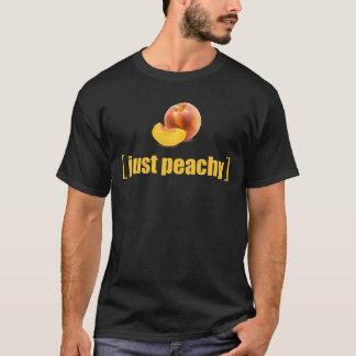 Just Peachy Realistic Photo Gardeners Peaches Pun T-Shirt