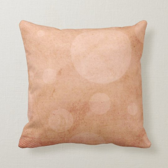 Just Peachy Throw Pillow