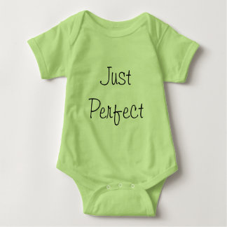 Just Perfect infant bodysuit