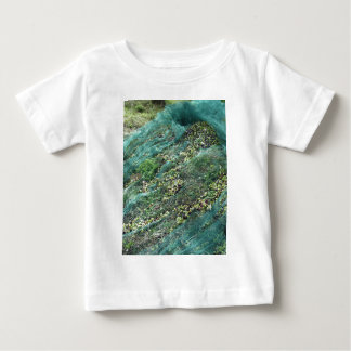 Just picked olives on the net during harvest time baby T-Shirt