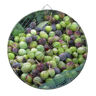 Just picked olives on the net during harvest time dart boards