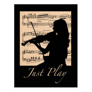 Just Play Postcard