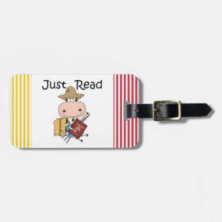 Just Read Luggage Tag